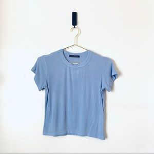 NWT Brandy Melville Ribbed T-shirt Lilac Small